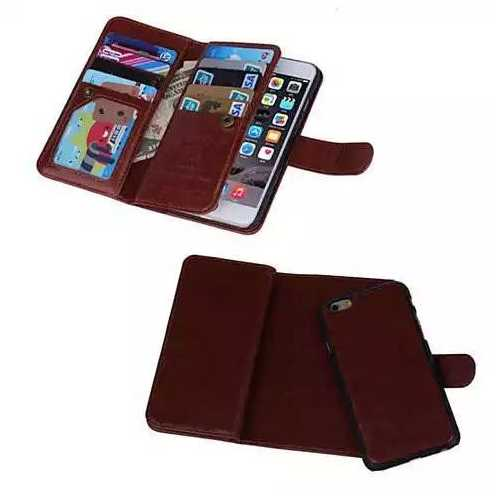 iPhone 6/6 Plus and Samsung Smartphone Removable Wallet Case with Wristlet