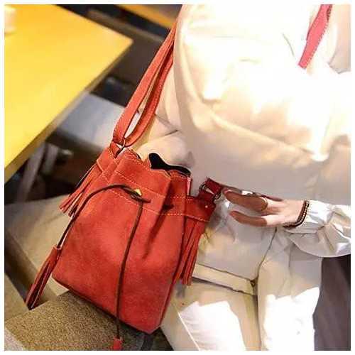 SAHARA The Tasseled Cross Body Bags