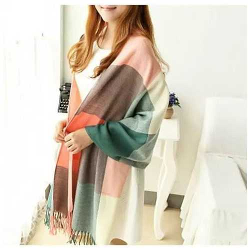 COLORAMA Reversible Shawl Full Of Colors
