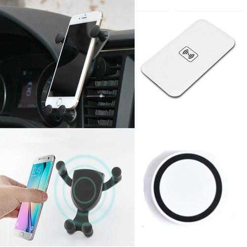 Home- Car- Travel Wireless Charger for iPhone And Smartphones