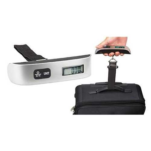 Luggage Scale with Temperature Sensor
