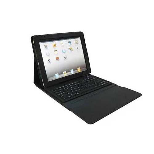iPad Portfolio with built in Bluetooth keyboard for iPad 2/3/4