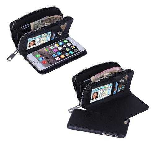 iPhone 6/6 Plus Clutch Purse with Detachable Phone Case