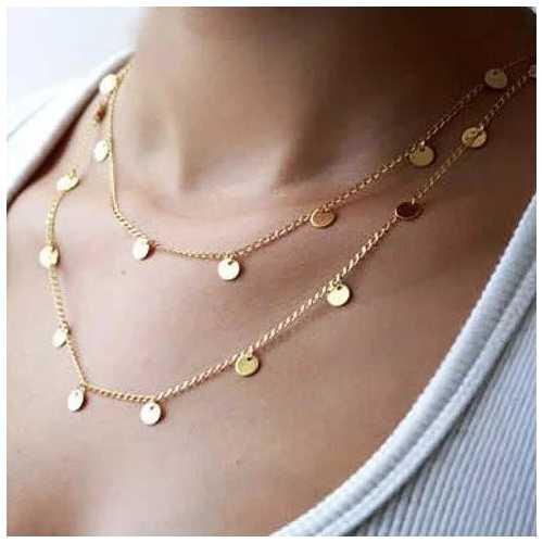 Shimmer Shimmer Long Necklace
