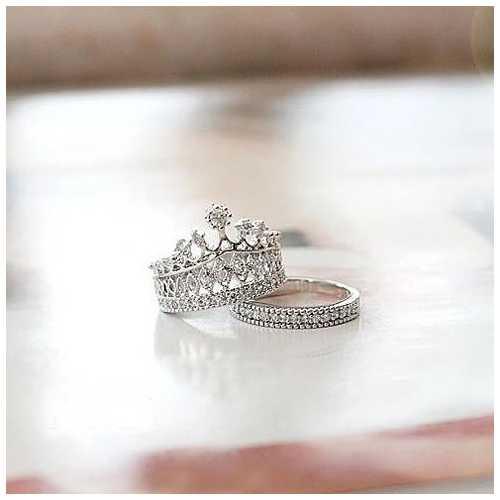 Princess Ring Set Of 2