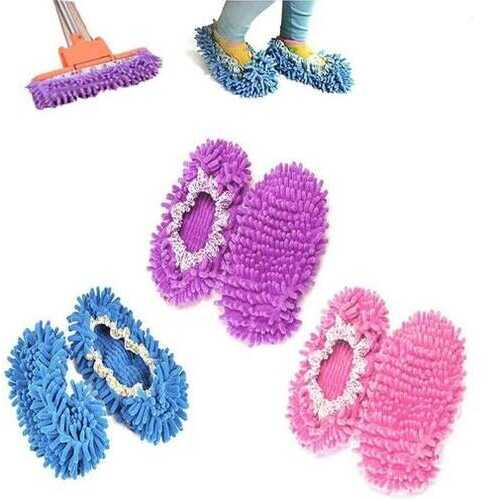 Lazy Maid Quick Mop Slip-On Slippers 3 prs / 6 pcs