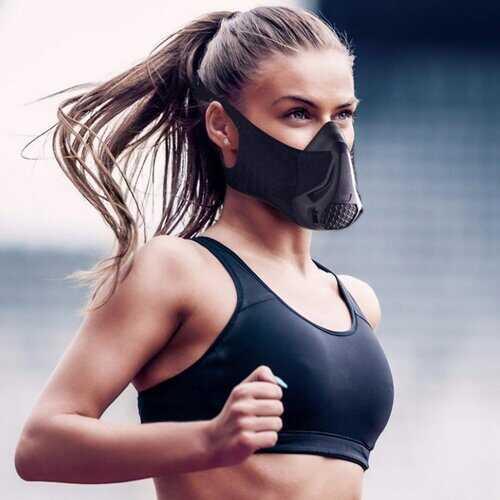 Elevation Resistance Training Cardio Workout Sports Mask