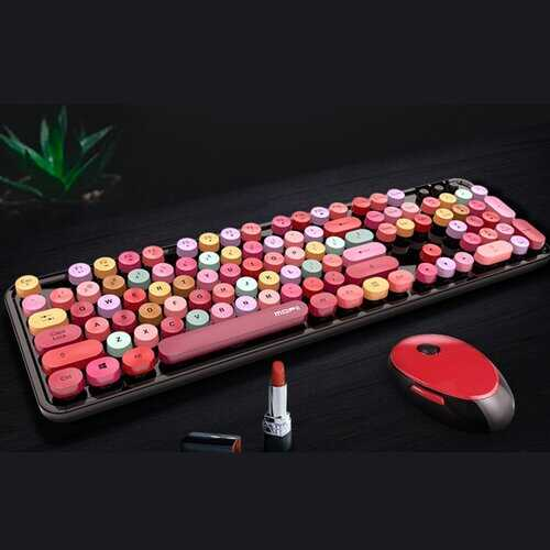 Spring Multi Wireless Keyboard And Mouse Set