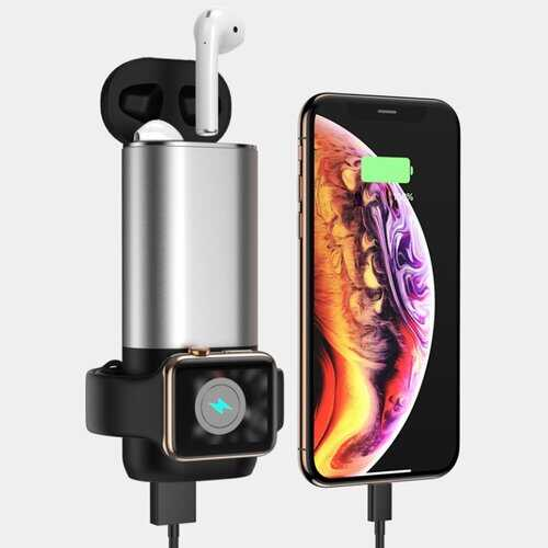 Porta 3 in 1 Wireless Charger For Apple Watch And Airpods Plus Phone
