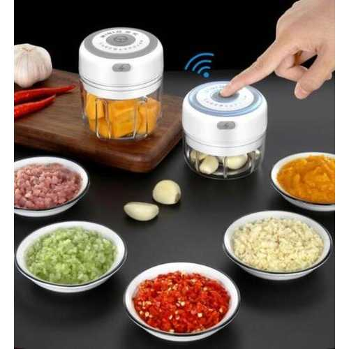 Quick Chop Powered Herbs,Veggie Chopper And Salsa Maker