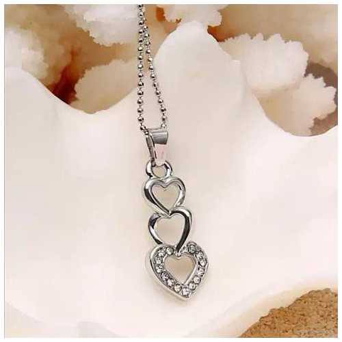 Love Story Three Phases Of Love Necklace