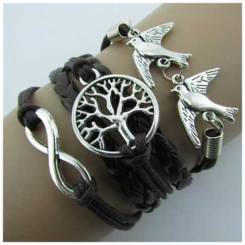 LOVEY DOVEY Doves Of Infinite Love And Peace Bracelet