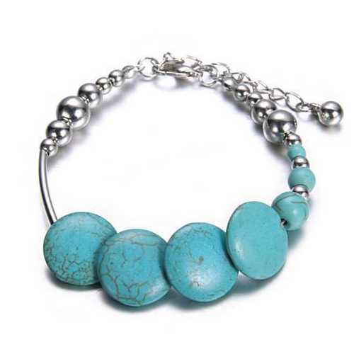 DEJAVU Sweetly Speckled Turquoise Bracelet