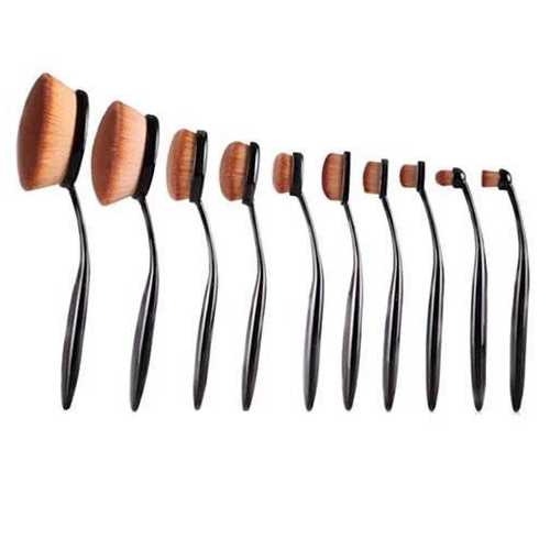 BEAUTY EXPERTS Set of 10 Beauty Brushes