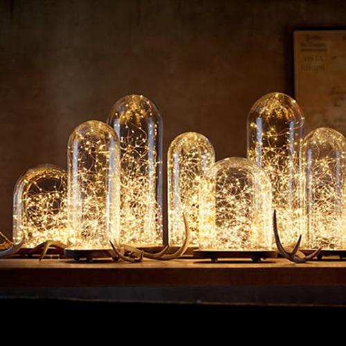 Sheeny Shiny 40 Mini Fiery LED Lights In 2 Packs Of 20