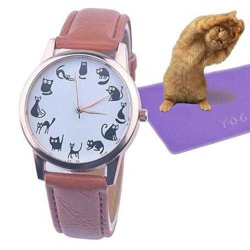 Meow Moods Cat Watches