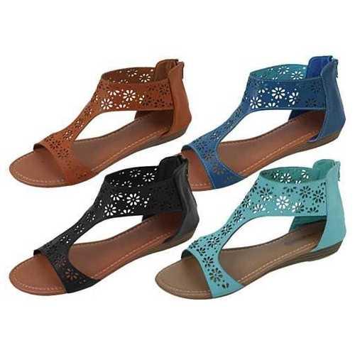 Crazy Daisies Summer Sandals