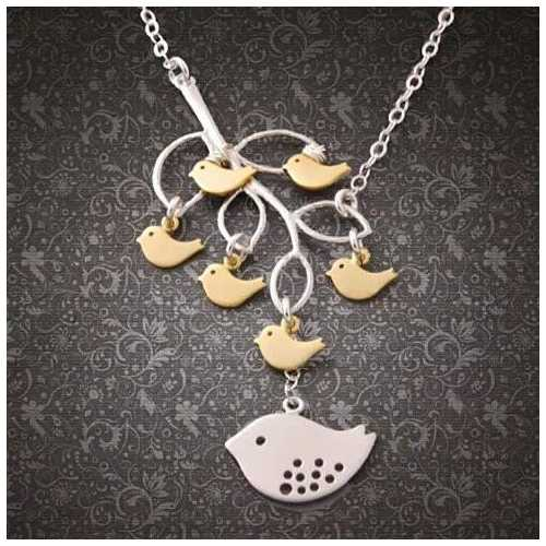 It's All In The Family 925 Sterling Silver Necklace