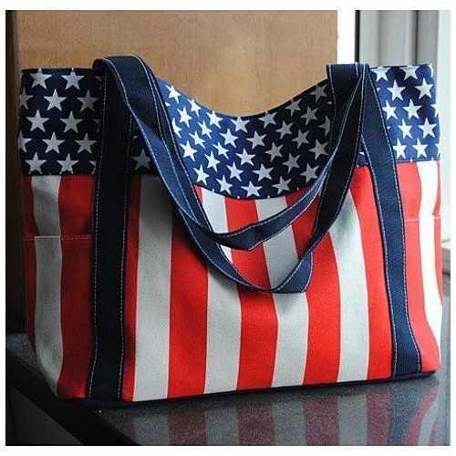 Star Spangled Canvas Bag