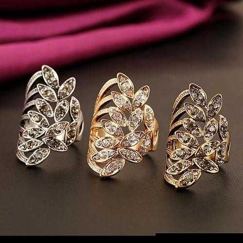 Gilda Ring Embellished Fashion Jewelry