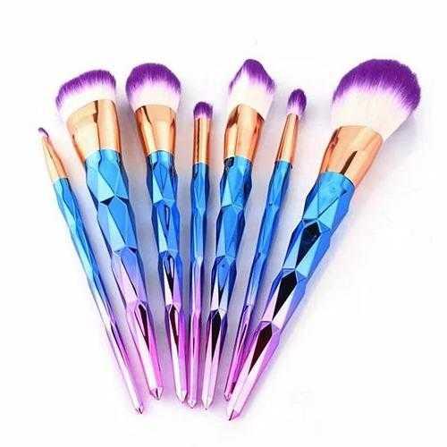 Unicorn Exotic Beauty Enhancer Cosmetic Brush Set Of 7