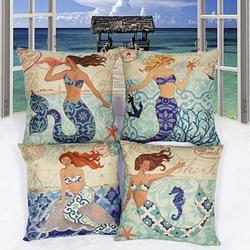 Moods Of A Mermaid Cushion Covers