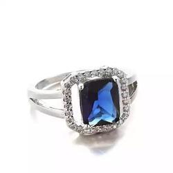 Blissful Princess Cut Ring