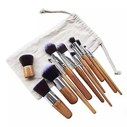 Lucky Beauty Bamboo Brush Set of 10 pcs