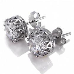Crown Jewels Earring all set in Sterling Silver
