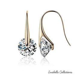 BOUTIQUE DIAMONDS - Charming Swarovski Drop Earrings