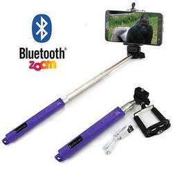 Selfi Monopod Telescopic Stick with Bluetooth & Zoom controls