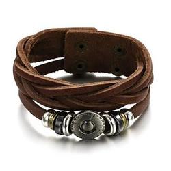 Bingo Bracelet In Genuine Leather