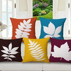 Foliage Love Autumn And Spring Leaf Cushion Covers