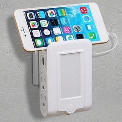 4 in 1 Expert Multitasker Wall Power Adapter Socket And Phone Charger With Night Light Function