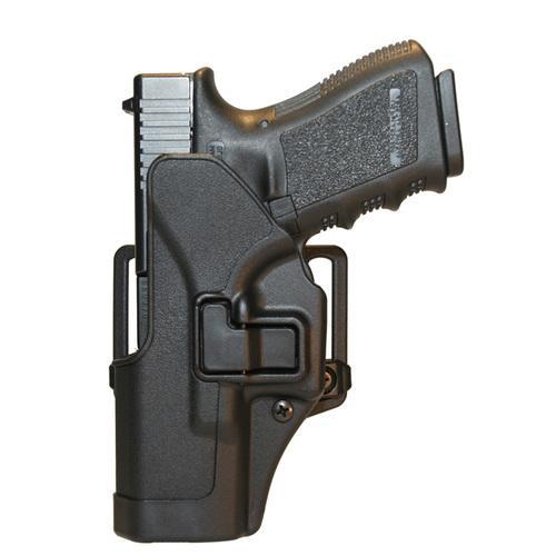 SERPA CQC HOLSTER Black Left Hand Glock 26/27/33