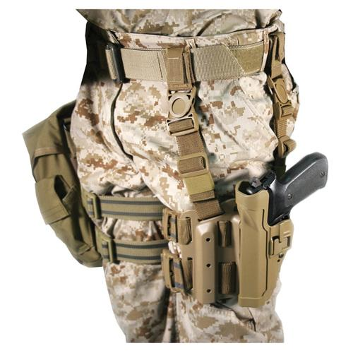 Serpa Tactical Level 2 Holster Coyote Tan RH Beretta 92/96/M9 Std