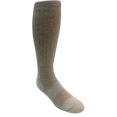 Ice Military Boot Sock Size 9-13 Sand