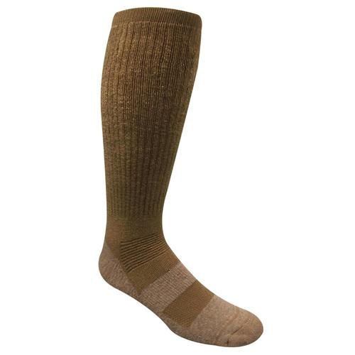 SAND MILITARY BOOT SOCK Size 4-8 Coyote Brown