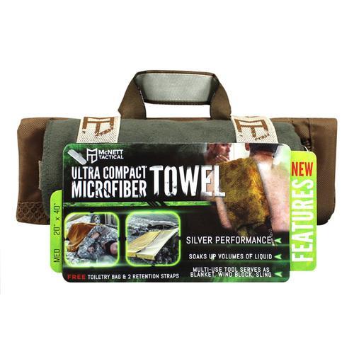 MicroNet Microfiber Towel Medium OD Green