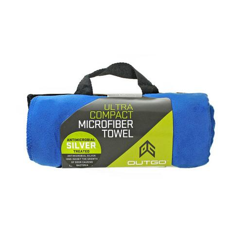 Outgo Microfiber Towel Large Cobalt