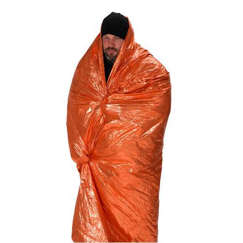 Emergency Survival Blanket Orange/Silver