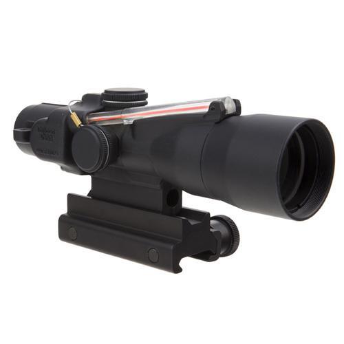 3x30 Compact ACOG® Scope, Dual Illuminated Red Chevron .223/62gr