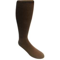 Rock Ground Pounder Sock Size 13-15 Coyote Brown