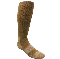 Ice Military Boot Sock Size 4-8 Coyote Brown