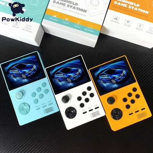 WiFi Handheld Game Console 3.5 inch IPS Screen Retro Video Games Player