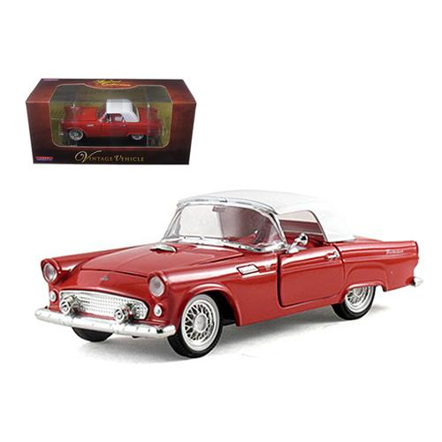 1955 Ford Thunderbird Hardtop Red 1/32 Diecast Car Model by Arko Products