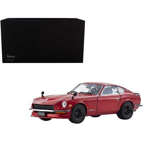 1970 Nissan Fairlady Z-L (S30) RHD (Right Hand Drive) Red Metallic 1/18 Diecast Model Car by Kyosho
