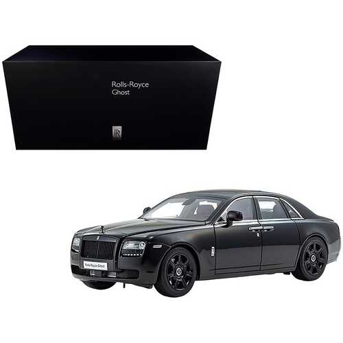 Rolls Royce Ghost Diamond Black 1/18 Diecast Model Car by Kyosho