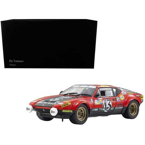 De Tomaso Pantera #43 Pierre Rubens Le Mans (1975) 1/18 Diecast Model Car by Kyosho