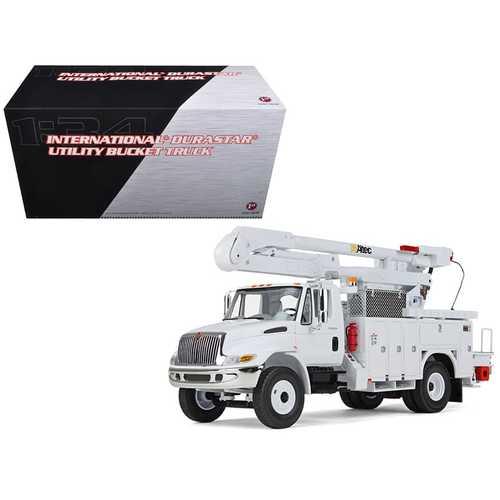 International Durastar Utility Bucket Truck 1/34 Diecast Model by First Gear